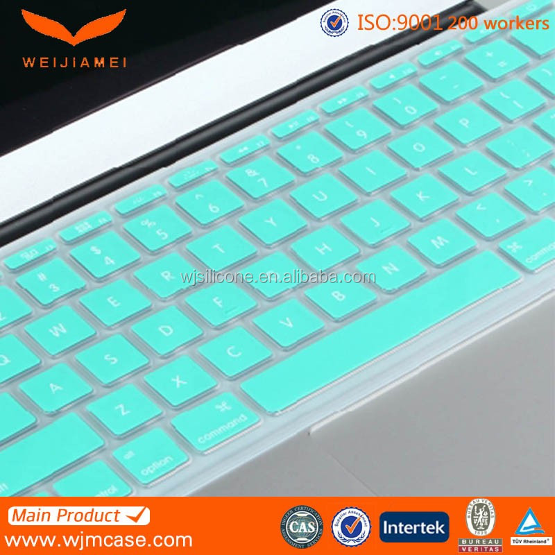 Ultra Thin colorful Soft TPU Keyboard Cover for Macbook