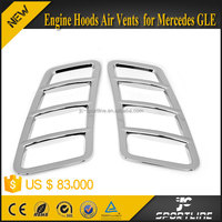 Engine Hoods Air Vents for Mercedes GLE Sport Car Only 2015 UP