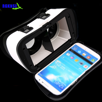 Rgknse VR CASE 5 PLUS Universal Virtual Reality 3D vr Video Glasses for 4.0 to 6.3 inch Smartphones vr headsets
