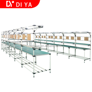 DY52 table assembly industrial by lean tube or aluminium profile for Workshop
