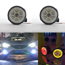 car accessories 2016 hiace DRL fog lamp led fog lamp for toyota fortuner corolla