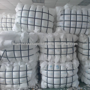 Recycled Plastic Furniture Foam Sponge Scrap
