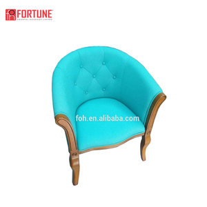 Foshan Restaurant Furniture 5 Star Restaurant Chairs Solid Wood Upholstered Chair (FOH-JTC8 )