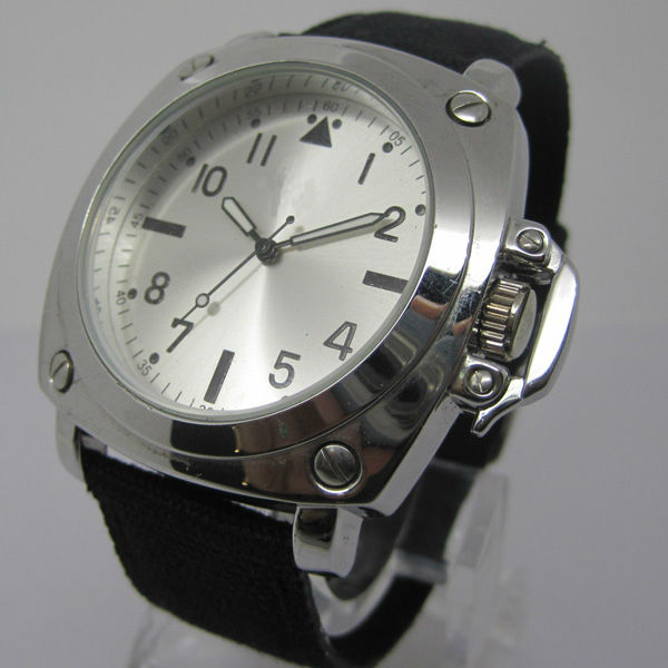Stylish alloy watch with alloy case and Japan quarzt movement