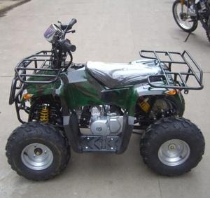 Gas powered 110cc cool sport atv manual/raptor quad atv with chain.