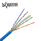 SIPU high speed networking lan utp Cat6 26awg braided shield cable for ethernet