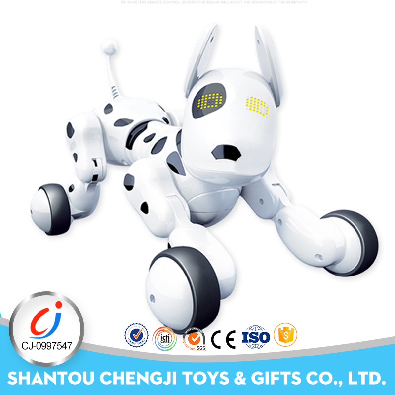 2018 new intelligent robot toy electronic remote control dog for kids