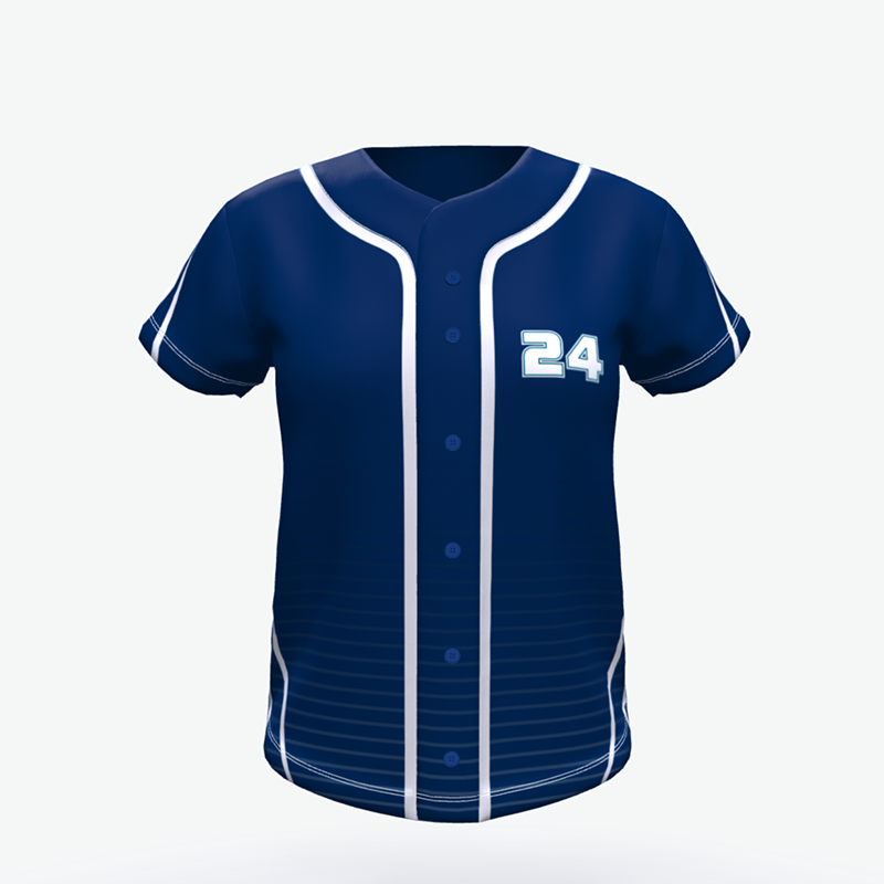 Custom Cheap New Design Sublimated Softball Wear Jerseys