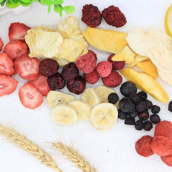 TTN Chinese Suppliers Wholesale Mixed Freeze Dried Fruit
