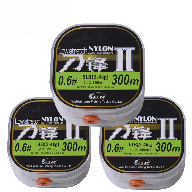 2017 New Fishing Tackle 260m/300m Monofilament Nylon Fishing Line