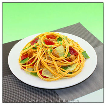 2014 China Supplier hot new products lifelike resin spaghetti,wholesale magnets fridge food