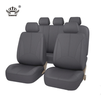 Rownfur New Design Luxurious Business Interior Accessories fashion Comfortable Environmental factory leather car seat cover