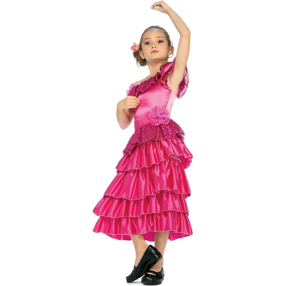 Buy Little Girls Pink Spanish Princess Costume Toddler In Cheap