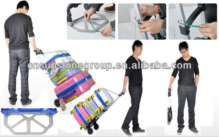 c237b15a80ac Aluminum Folding Luggage Cart,Iron Foldable Trolley - Buy High Quality  Folding Luggage Cart,Small Luggage Trolley,Small Luggage Cart Product on ...
