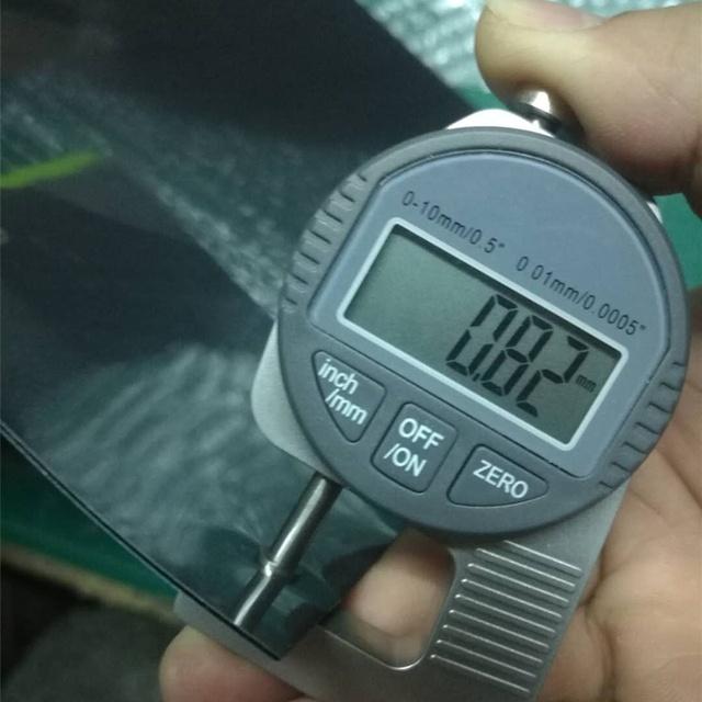 Dark Green 3d Flock 0.8mm Flex 20 Colors S710 Sgs Tested