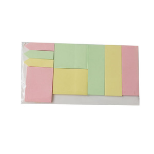 many types memos block sticky note pad set suit for school