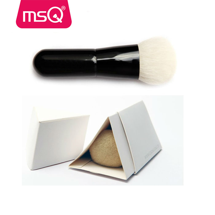 MSQ 2017 new single best powder foundation brush refillable makeup powder brush