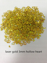3mm rainbow heart ,round,star PVC glitter sequins