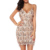 Ladies Sexy Fringe Sequin Spaghetti Strap Night Out Sexy Party Dresses
