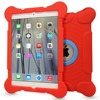 New arrival high quality kickstand case hard silicone back case for iPad Air 2/ iPad 6