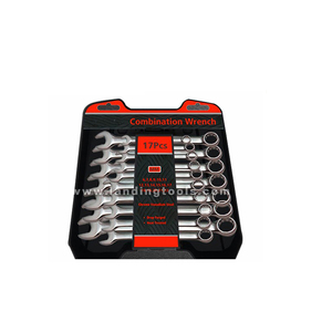 Accept custom order torque wrench combination spanner set
