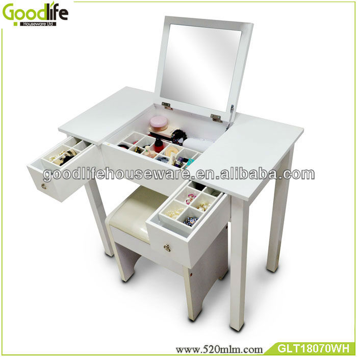 bedroom dressers wooden makeup vanity table with mirror buy
