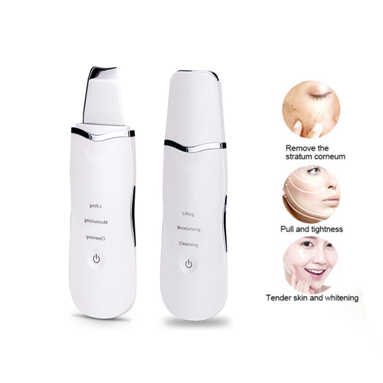 Factory Sales Ultrasone Gezicht Porie Schoner Ultrasone Therapie Galvanische Ion Facial Massager Gezicht Lift Machine Huid Scrubber