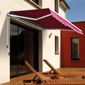 front door aluminium canopy sun shade