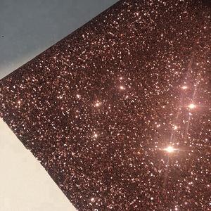 Trade Assurance Hot Sell Grade 3 Chunky Pu Glitter Wallpaper Fabric