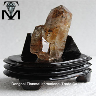 Top natural rutile rough quartz crystal wands /rutile quartz wands hair crystal points for sale