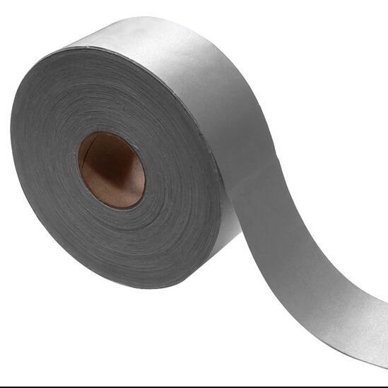 Отражающей ткани световой светоотражающие серебро 5 * 500 см лента 9180 отражающей тип