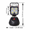 ATV Parts Truck Lighting 18W 3 Stage Waterproof Work Light Magnetic 1400lm High Beam led portable lamp