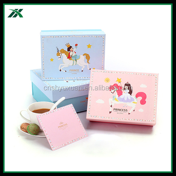 cute folding baby shower favor packaging gift box