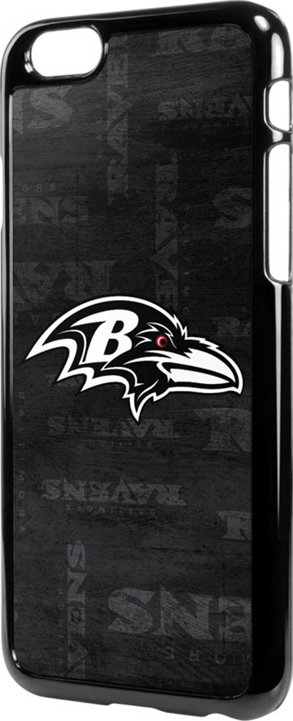 NFL Baltimore Ravens iPhone 6/6s LeNu Case - Baltimore Ravens Black & White Lenu Case For Your iPhone 6/6s