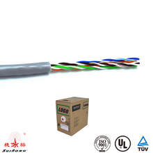 Good quality 305m 1000ft 0.51mm 24AWG Copper utp lan cat5e cable with connection box