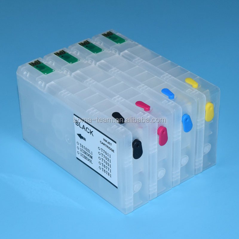 Refilling ink cartridges for Epson workforce WP 4015 4095 4515 4025