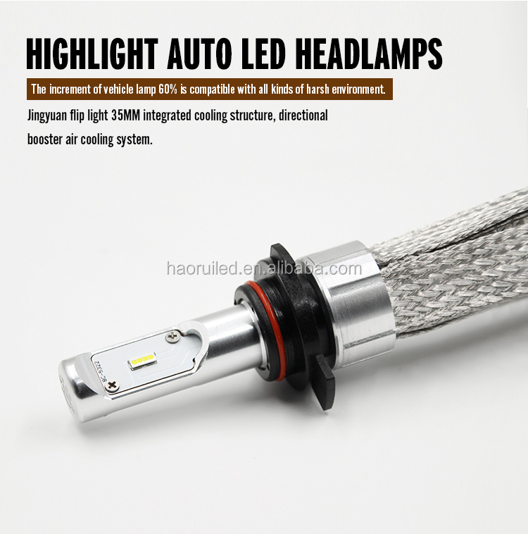 Super brightness h7 h11 8000 lumen 30w led bulb for car and motorcycles headlight and fog light
