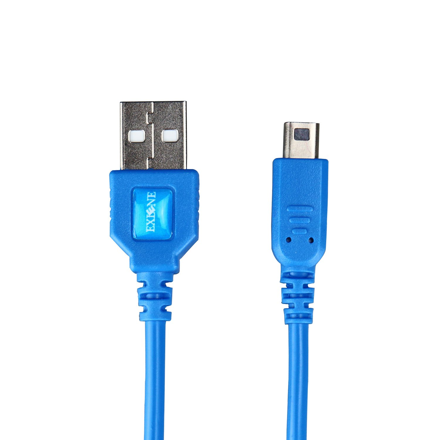 Exlene Nintendo 3DS USB Power Charge cable [Play while charging ] For Nintendo 3DS, 3DS XL, 2DS, 2DS XL LL, DSi, DSi XL (1.2M/4ft, blue)