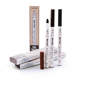 Music Flower waterproof liquid eyebrow pencil use with eyebrow template