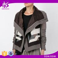 Shandao OEM fashion custom design winter women long sleeve cashmere wool coat