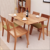Customised dining room furniture French Solid oak wood dining table set