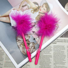 Feather Ball Pens Kawaii School Supplies Stationery Roller Ball Pen Gift For Writing Crafts