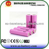2014 rechargeable 3.7v new lithium 2600mah battery for samsung sdi 18650