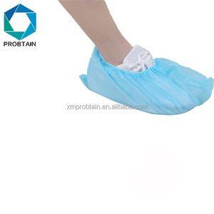 Disposable Custom Wholesale Medic Boot Blue Booties Shoe Covers