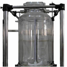 Reacto,Triple Glass Reactor Multi-function With Distillation And Rectification System,Sampling Online,Thorium Reactor,Customized