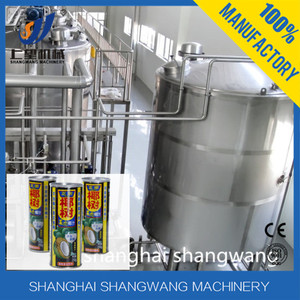 Coconut juice production processing line/Coconut milk washing machine
