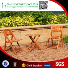 Garden coffee table set outdoor folding chair teak wood furniture