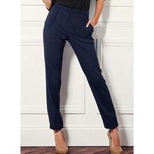 2015 Office Lady Summer Fashion Candy Color Elastic Waist Women Trousers ,Plus size 2XL Slim Casual Sport Harem Pants