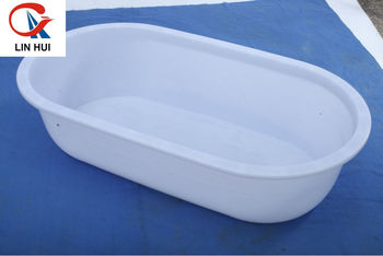 Linhui Plastic Provide The Complete Size Large Plastic Bathtub PE Portable  Bathtub/plastic Bathtub For