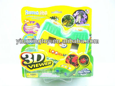 hot sell flash plastic toy camera picture viewer